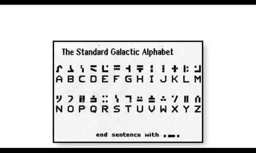 The Standard Galactic Alphabet Wiki Purpleshep Amino Amino