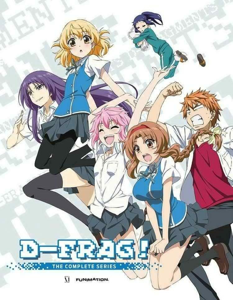 D Frag Anime Characters : D frag anime amino