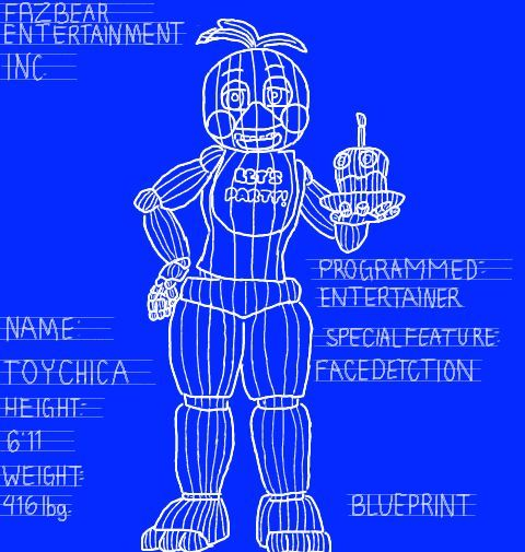 Toy chica blueprint five nights at freddys amino malvernweather Gallery