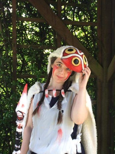 princess mononoke san cosplay