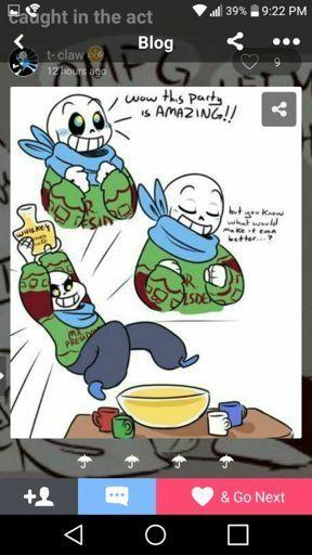 Christmas Party Au Comic.Christmas Sans And Papyrus Au Party Undertale Amino