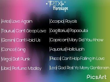 PTX|•° Horoscope Quiz! | Pentaholics Amino