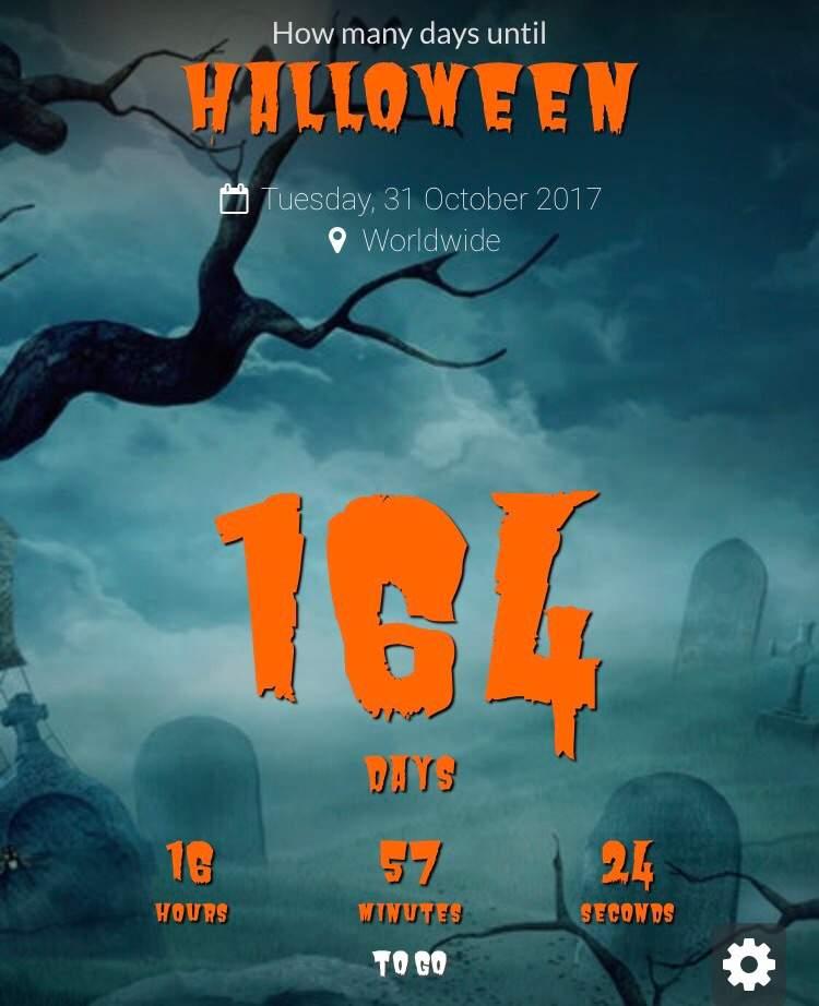 164 Days left until Halloween! | Horror Amino