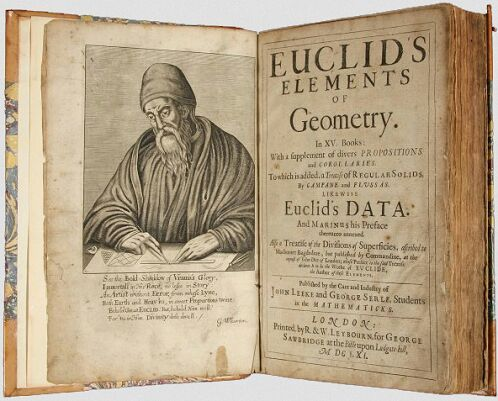 Elementos de Euclides — introducción   Matemáticas Amino Amino
