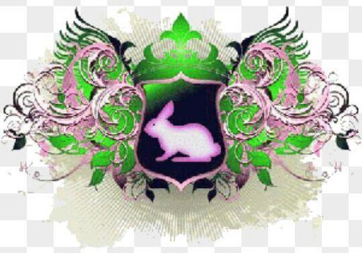 debido a la dulzura de su corazn sivillino escogi al conejo como animal referencial para su casa y el color verde el color de la esperanza