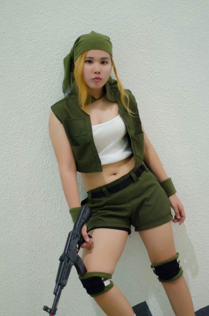 metal slug eri kasamoto cosplay cosplay amino
