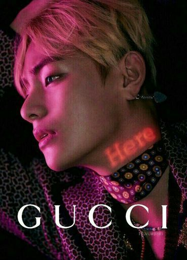 Tae X Gucci Apreciation V K O O K Amino