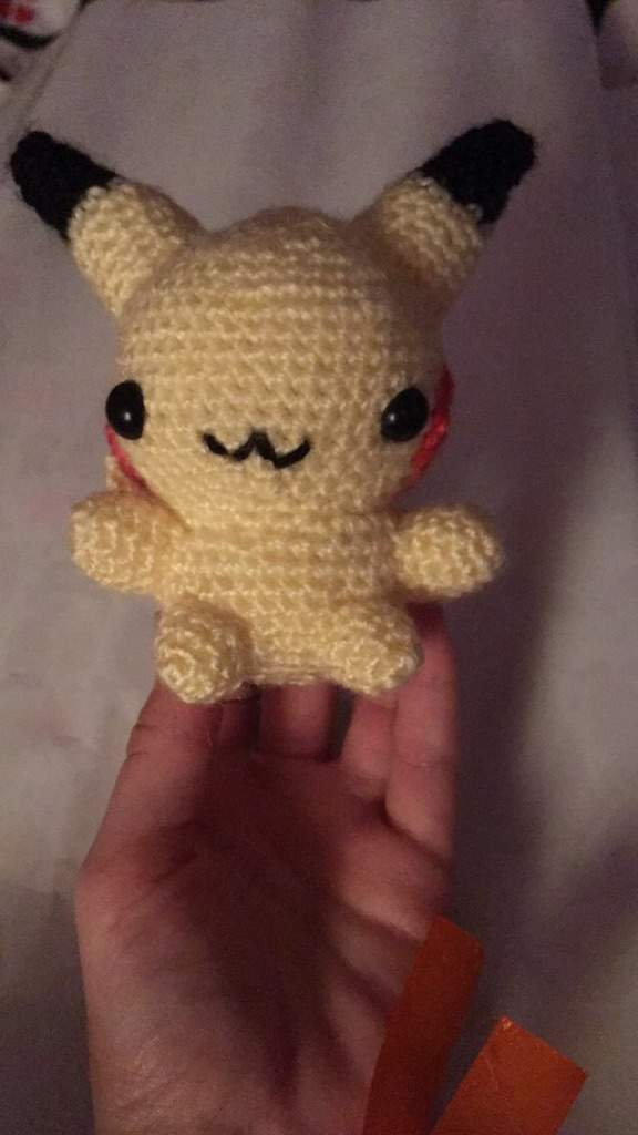 Chibi Pikachu from Pokemon Amigurumi | Let's capture this Ch… | Flickr | 1024x576