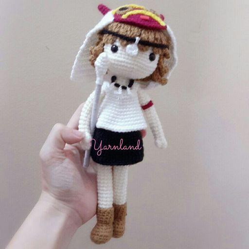 Princess Mononoke kawaii amigurumi, custom handmade with love ... | 512x512