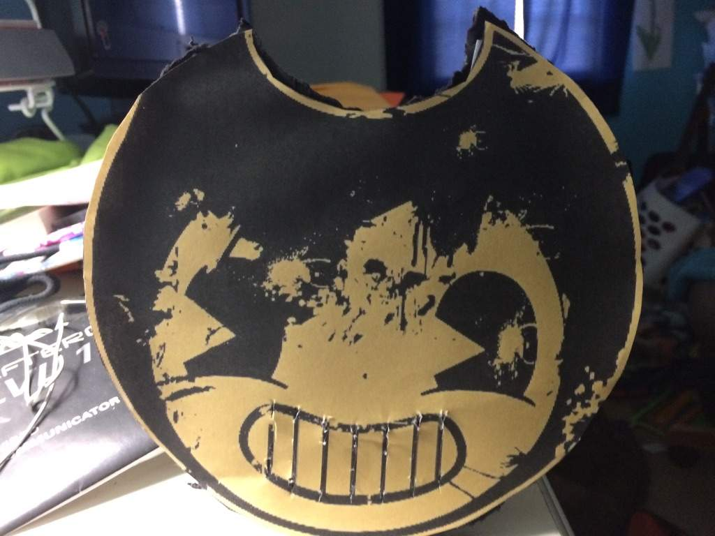 bendy and the ink machine mask