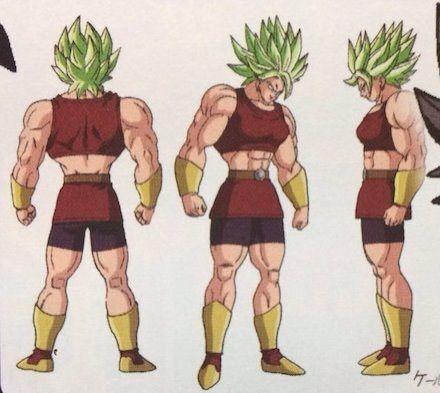 Imagen De Kale En Su Supuesto Estado De Ssjl Dragon Ball Espanol Amino