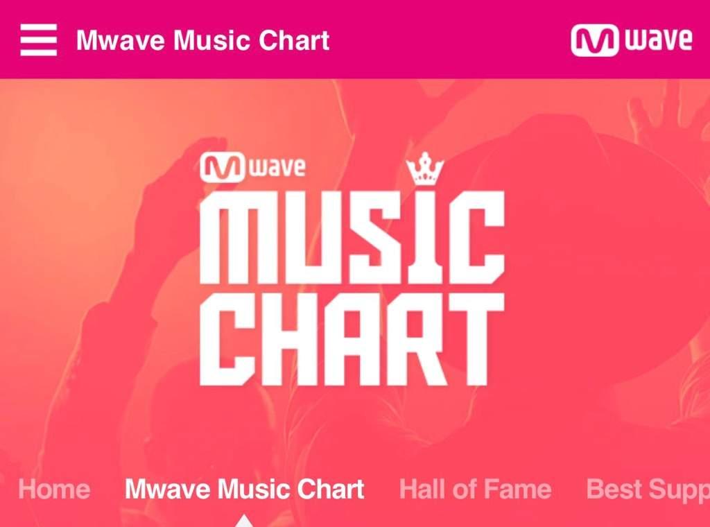 Mwave Music Chart Voting! | Monbebe Amino