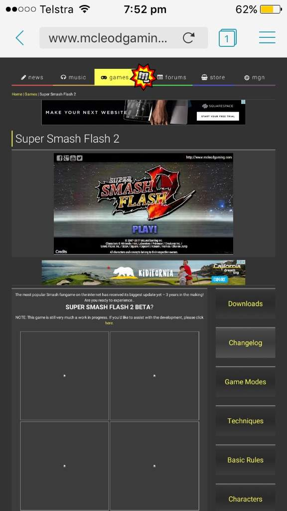 super smash flash 2 full download