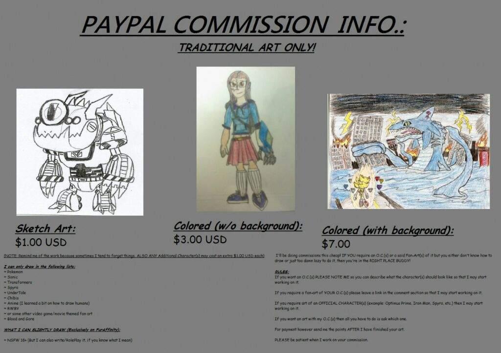 Cheap PayPal Commission | RWBY Amino