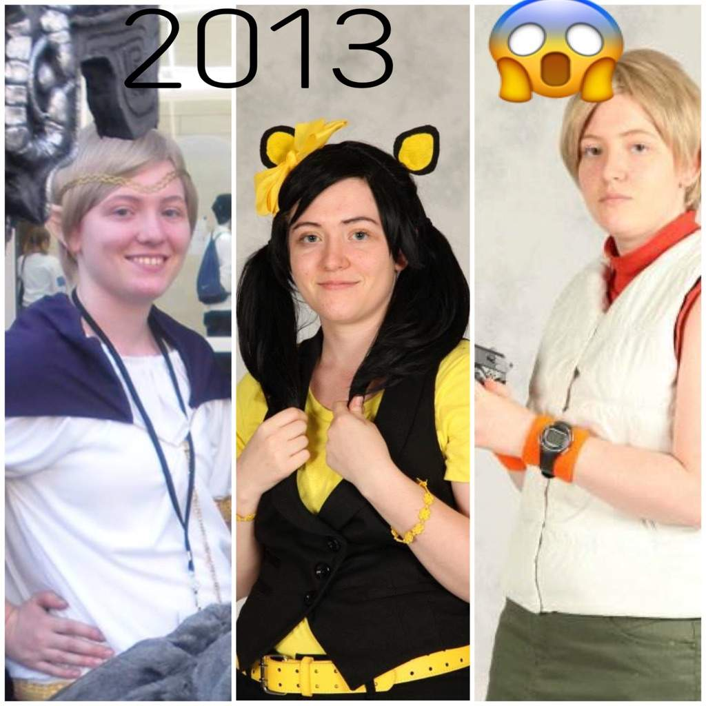 f178db733 Then vs. now   Cosplay Amino
