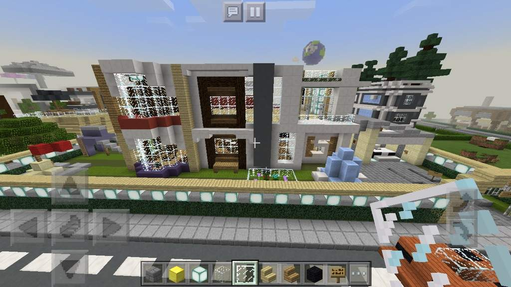 Modern house minecraft amino for Modern house 6 part 2