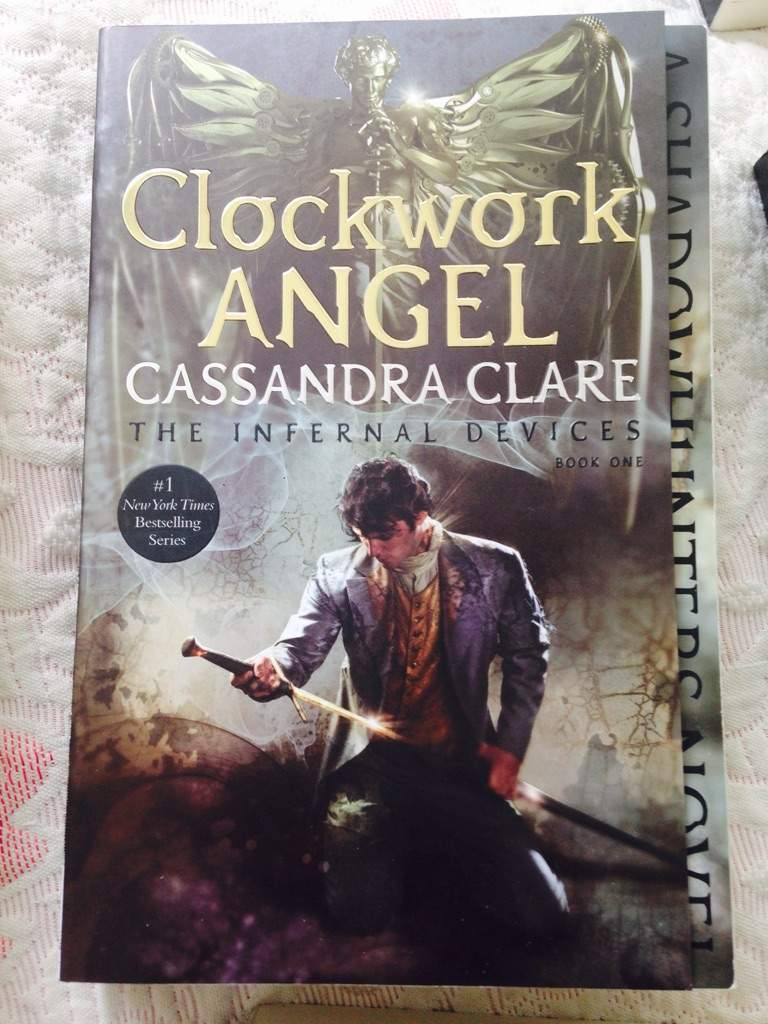 Second Is The Infernal Devices Series ( My Favorite) With The First  Installment Being Clockwork Angel With Will Herondale On The Cover: