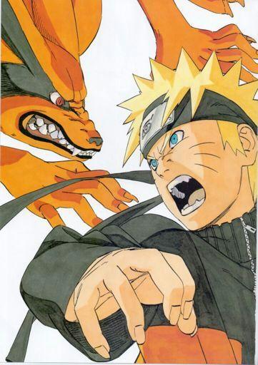 Dibujando a Naruto y a Kurama  Naruamino Amino