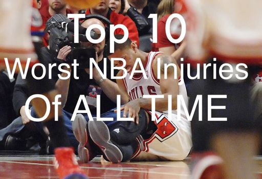 10 Of The Worst Injuries The NBA Has Ever Seen | Hardwood