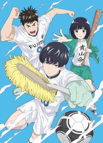 A Comedy Sports Anime Seried Set To Release July 2 2017 The Series Follows Aoyoma Kun Soccer Player Whos Neat Freak Based On Manga By Taku