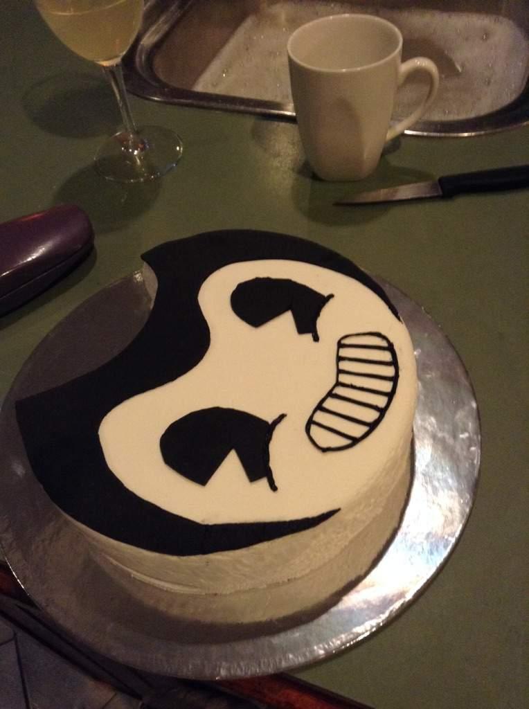 Bendy Birthday Cake