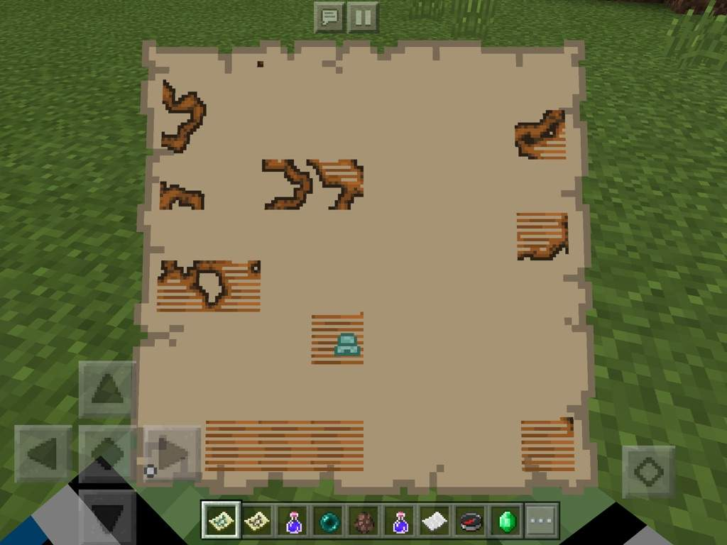 how to get explorer map minecraft