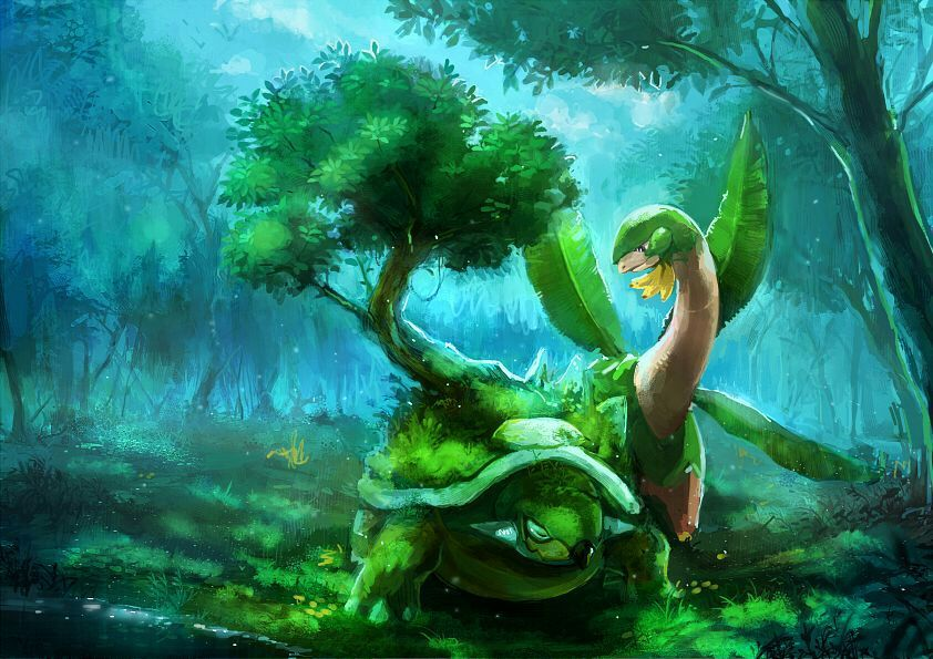 Best Nature For Turtwig