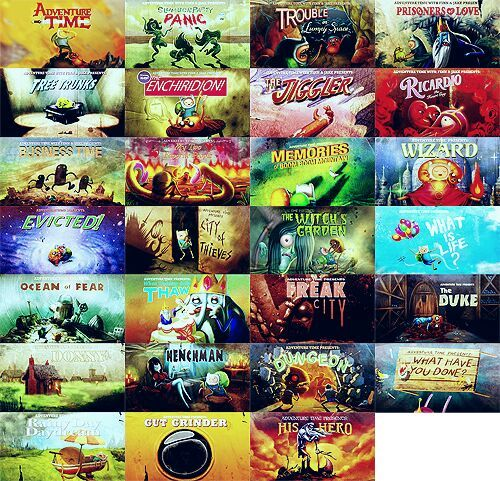 Lista De Los Episodios De Adventure Time Hora De Aventura Amino Amino
