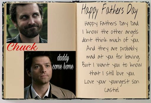 Happy Fathers Day Chuck! | Supernatural Fanart And Fanfic