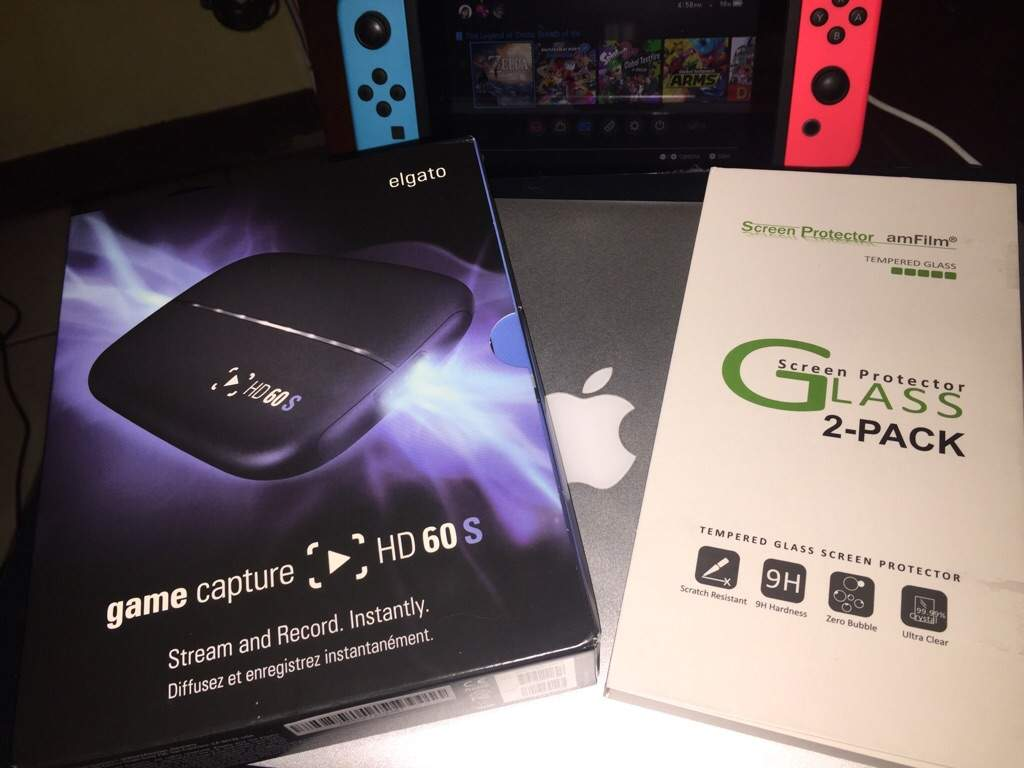 ElGato Game Capture HD60S + AmFilm Tempered Glass Review Coming Soon