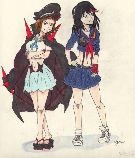 Mako And Ryuko Fanart Kill La Kill Amino