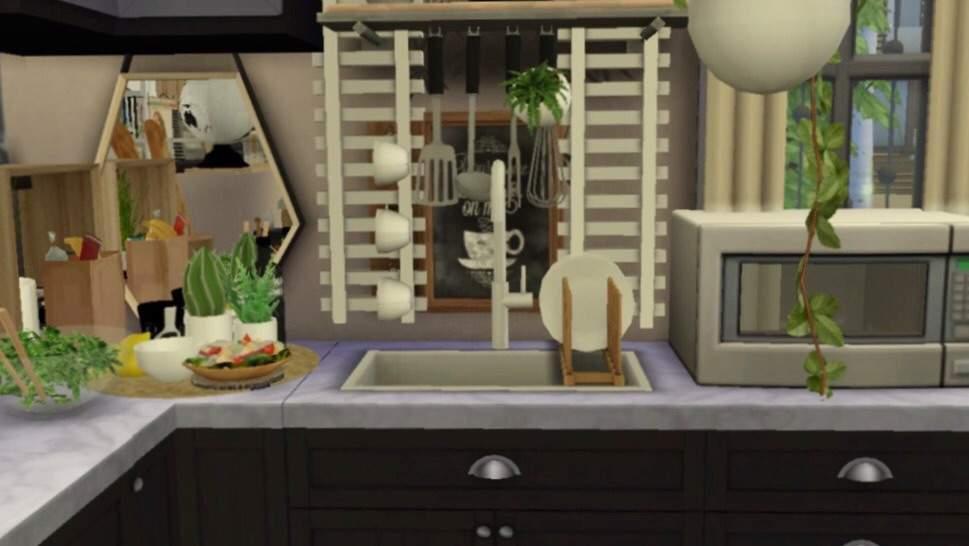 Sims  Cc Bright Kitchen Sink