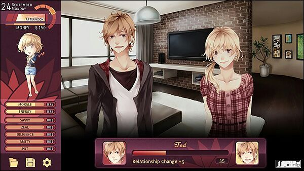 Anime dating sim for girl