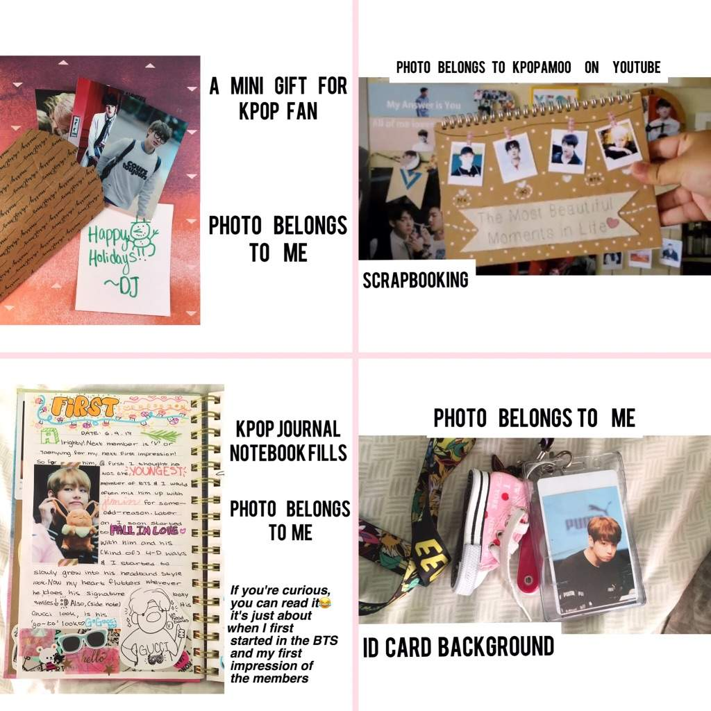 How To Make 100+ BTS Photo Cards Under $5