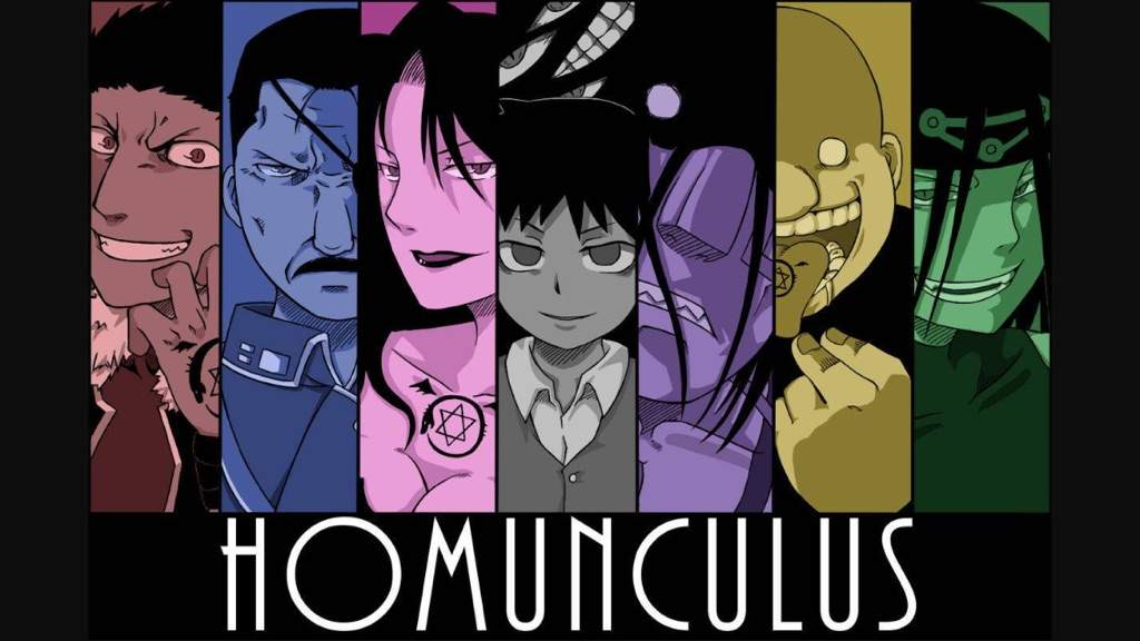 Top 7 FMAB Homunculus Sins! | Fullmetal Alchemist Amino