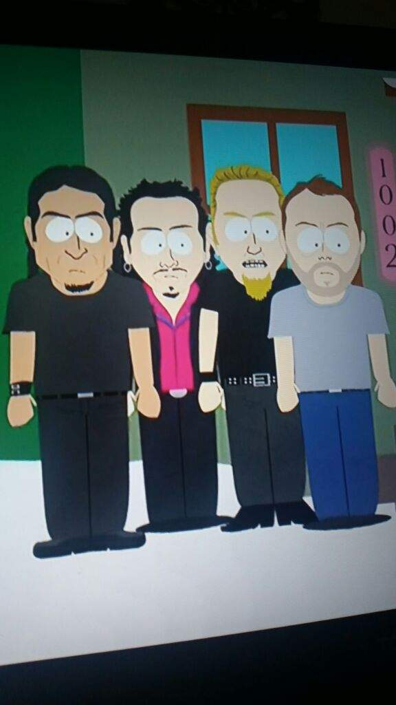 Metallica is south park | Metal Amino