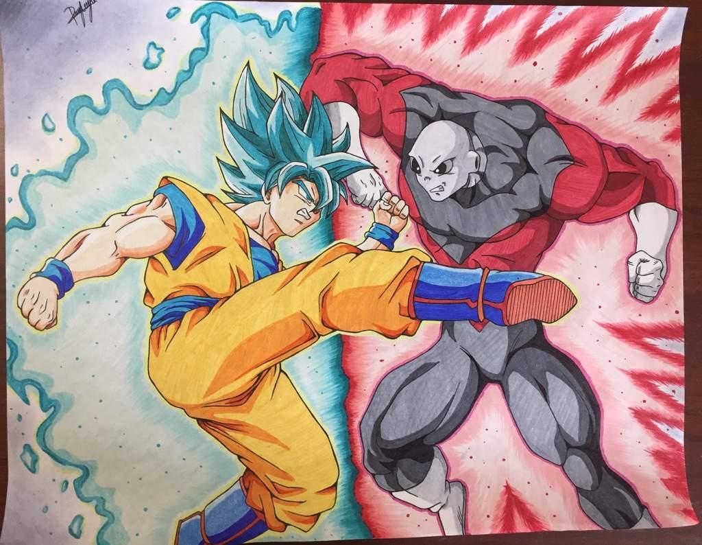 Goku Vs Jiren! La Pelea Mas Esperada!