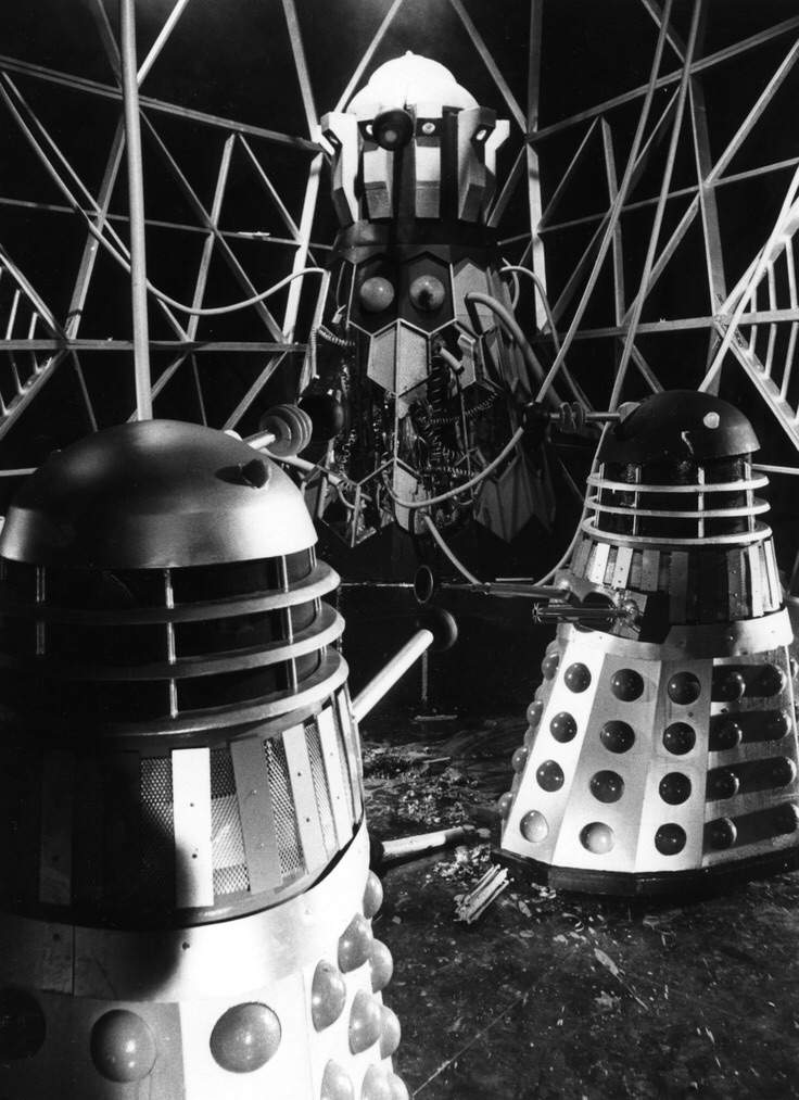 evil of the daleks ending relationship