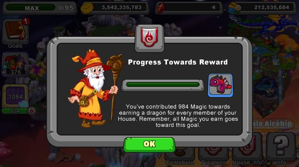 Progress Dragonvale Amino