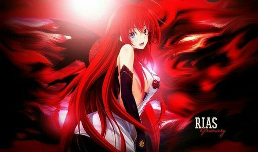 how to draw rias gremory step by step