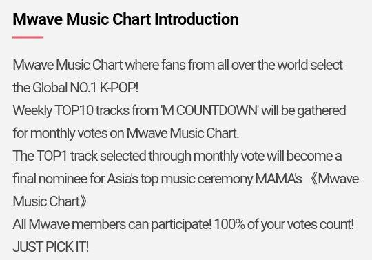 Blinks Unite Mwave Music Chart Voting   Blink