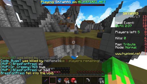HYPIXEL SALT pt 1 | Skywars | Minecraft Amino