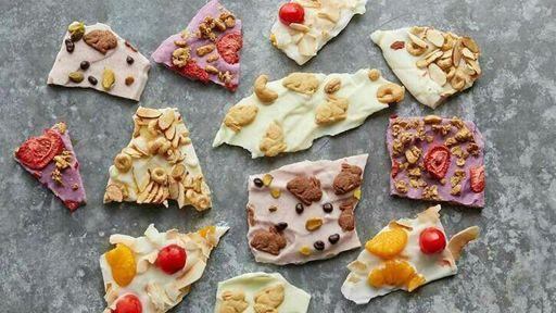 Snacks de yogur 🍓🍌   CHICAS   ESTILO DE VIDA Amino