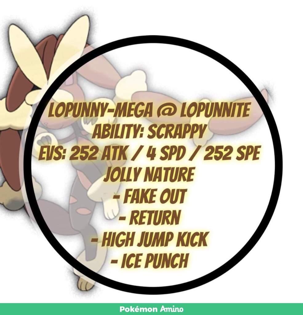 Lopunny Pokédex: stats, moves, evolution & locations ...