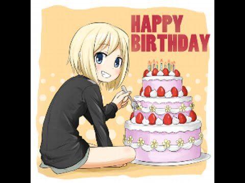 Happy Birthday Lady Images ~ Happy birthday lady red anime amino