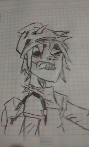 Mi Dibujo Gorillaz Español Amino