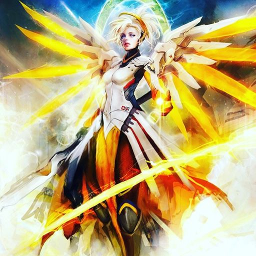 mercy screensaver wiki overwatch amino