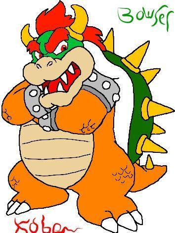Bowser Fan Art Super Mario World Style Mario Amino
