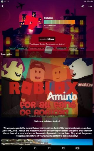 We reached 30k members! ^-^ | Roblox Amino
