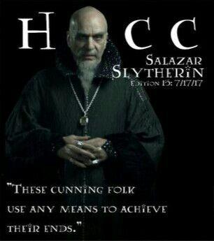 Salazar slytherin heir
